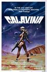 GALAXINA B-MOVIE REPRODUCTION ART PRINT A4 A3 A2 A1