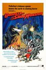 GODZILLA VS THE SMOG MONSTER B-MOVIE REPRODUCTION ART PRINT A4 A3 A2 A1