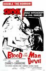 BLOOD OF THE DEVIL MEN 01 B-MOVIE REPRODUCTION ART PRINT A4 A3 A2 A1
