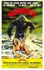 MONSTER 02 VINTAGE CLASSIC B-MOVIE REPRODUCTION ART PRINT A4 A3 A2 A1