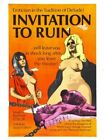THE INVITATION TO RUIN 02 B-MOVIE REPRODUCTION ART PRINT A4 A3 A2 A1