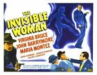 THE INVISIBLE WOMAN 03 VINTAGE B-MOVIE REPRODUCTION ART PRINT A4 A3 A2 A1