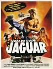 THE JAGUAR LIVES 01 VINTAGE B-MOVIE REPRODUCTION ART PRINT A4 A3 A2 A1