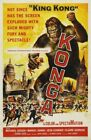 THE KONGA GORILLA 01 B-MOVIE REPRODUCTION ART PRINT A4 A3 A2 A1