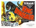 KING DINOSAUR 02 VINTAGE B-MOVIE REPRODUCTION ART PRINT CANVAS A4 A3 A2 A1