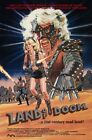 Vintage B Movie Poster Land Of Doom Print Art A4 A3 A2 A1