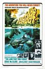 Vintage B Movie Poster Land That Time Forgot Print Art A4 A3 A2 A1