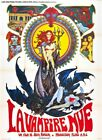 NUDE VAMPIRE 01 VINTAGE CLASSIC B-MOVIE REPRO ART PRINT A4 A3 A2 A1