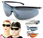 TR90 POLARIZED FISHING SPORT SUNGLASSES Full Wrap Golf Running Cycling Glasses