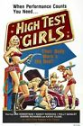 HIGH TEST GIRLS 01 VINTAGE B-MOVIE REPRODUCTION ART PRINT CANVAS A4 A3 A2 A1