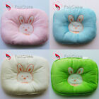 Cute Bunny Head Shape Soft Cotton Infant Baby Pillow Prevent Flat Head