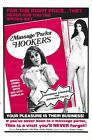 MASSAGE PARLOR HOOKERS B-MOVIE REPRODUCTION ART PRINT A4 A3 A2 A1