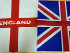 UNION JACK GB  OR ENGLAND ST GEORGE COTTON BANDANA IDEAL OLYMPICS EURO 2012