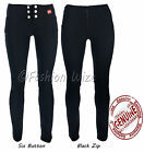 Girls Black Grey Fitted Stretch Hipster Size 4-16 Miss Sexies Miss Chief