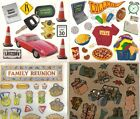 ASSORTED Sticker Sheets Frances Meyer FAMILY HOLIDAY TRAVEL SPORTS BBQ Choice