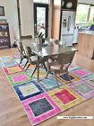 Overdyed PATCHWORK RUG, made of Vintage Turkish Carpets, Direct frm the Producer