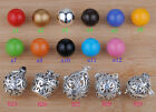 Bali Harmony Ball Mexican Bola Angel Caller Chime Sounds Silver Locket Pendant