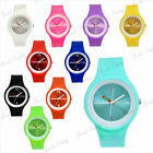 Rubber Jelly Silicone Sports Bracelet Watch Bangle Wholesale Free Shipping