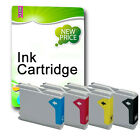4 NON-OEM Ink Cartridges REPLACE For LC900 LC985 LC1000 LC1100 LC1240 LC1280