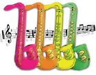 Large 76cm Inflatable Blow Up Saxophone Fancy Dress Up Costume Accessory