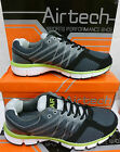 "Airtech Gents Grey/Neon Green Fashion Trainers ""ORBIT"""