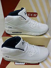 "Airtech Gents White/Navy  Baseball Style Fashion Trainer Boots ""HYPE"""