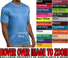 Mens T-Shirt Moisture Wicking Performance Work Out Athletic XS-4X NEW 19 COLORS image