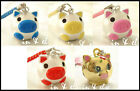 Pig Bell Charm Strap for Cell Phone Bag 1 inch.