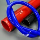 1 Meter Straight Silicone Hose. Size & Colour Choice Ash