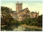 Wells Cathedral ENG Photochrome EPC936 Art Print A4 A3 A2 A1