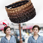 New Girl Braided Plait Plaited Wig Hair Band Headband 1.5cm Width HCT-C