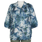 A Personal Touch Blouse Plus 1X Women's Shirt