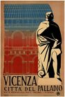 Vicenza Vintage Italian Travel Poster VII025 Art Print A4 A3 A2 A1