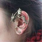 New 2012 Dragon Wrap Ear Cuff Gothic Rock hot Earring silver or gold for 1 ear