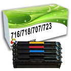 Remanufactured Toner Cartridges Replace for CRG-716 CRG-718 CRG-707 CRG-723