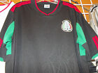 Mens black short sleeve Mexico Soccer Jersey Mexico City Soccer Jersey S-2X SWRL