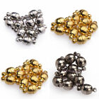 10 Sets Silver/Golden Plated Round Ball Magnetic Clasps Jewelry Findings 6/8mm