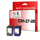 Remanufactured Ink Cartridges Replace For HP27 HP28 C8727AN C8728AN