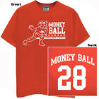 Wisconsin Badgers Football T-shirt Montee Ball Money Jersey
