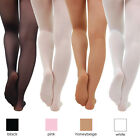 Children's Ballet Dance Tights Footed Seamless Girls and Ladies NEW [EBT]