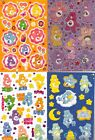 *CARE BEARS* Sticker Sheets American Greetings & SM Choice MANY CHARACTER BEARS