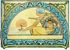 Water Lily 1898 By Alphonse Mucha AAM028 Art Print A4 A3 A2 A1