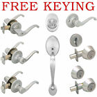 Designers Impressions Richmond Design Satin Nickel Door Lever Knob Hardware