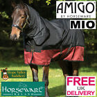 Horseware Amigo Mio One Piece Heavyweight Combo Turnout  Rug (AASJ44) **BNWT**