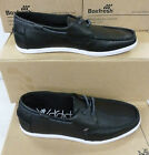 "Boxfresh Gents Black Leather Boat Shoe ""JIB"""