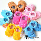 Spring Baby Child Toddlers Newborn Coral Fleece Slipper Soft Warm Boots Shoes