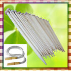 15/18 Pairs bamboo Single Pointed Knitting Needles Circular 2-10mm Mixed Size LH