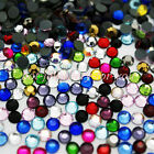 1000 GLASS HOTFIX IRON ON RHINESTONES CRYSTAL GEMS BLING STONES <br/> FREE POSTAGE SAME DAY DISPATCH - Royal Mail postage