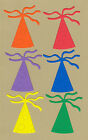 Your choice of colors on Party Hats #1 Die Cuts