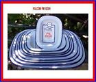 FALCON ASHET OBLONG ENAMEL DISH FROM 16CM TO 32CM STEAK PIE PUDDING BAKING TIN